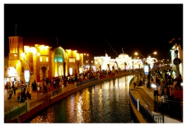 Beautiful view of Global Village