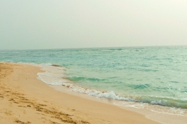 Beautiful Beach in Dubai