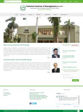 National Institute of Management Karachi